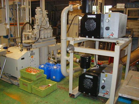 動力損失を抑える低発熱油圧ユニット
