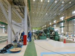生産ラインごと油圧ユニットを別工場へ移転