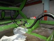 立体駐車場の油圧ユニットの部品交換