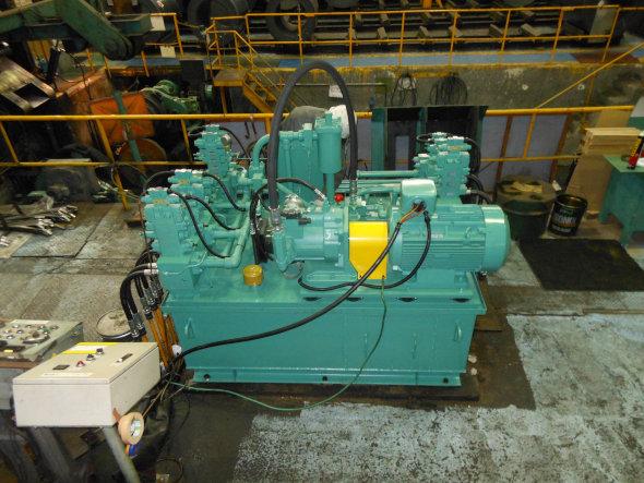 多機能ポンプを活用した低発熱油圧ユニット